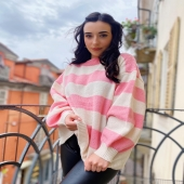 My F A V 💘  🔍Maglione Candy -rosa 23€